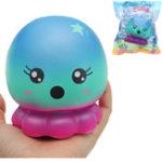 Оригинал Cutie Creative Octopus Squishy 16см Медленный рост с подарком коллекции упаковки Soft Toy