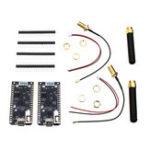 Оригинал Wemos® TTGO 2Pcs / lot ESP32 SX1276 LoRa 868 / 915MHz Bluetooth WI-FI Лора Интернет Антенна Совет по развитию для Arduino