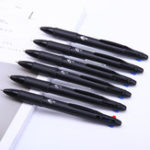 Оригинал 3Pcs Deli 0.7mm 4 in 1 Colorful Ballpoint Ручка Multicolor Retractable Ballpoint Ручка Office Школа Использование
