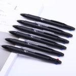 Оригинал 3Pcs Deli 0.7mm 4 in 1 Colorful Ballpoint Ручка Multicolor Retractable Ballpoint Ручка Office Школа Использование