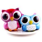 Оригинал Cute Deer Unicorn Owl Cream Ароматизированный Squishy Slow Rising Squeeze Strap Kids Toy