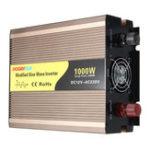 Оригинал DC 12V к AC 220V 2000W Пиковый адаптер инвертора питания Модифицированный преобразователь синусоидальной волны
