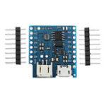 Оригинал 5 шт. Wemos® Батарея Shield V1.2.0 для Wemos D1 Mini Single Lithium Батарея Модуль зарядки и увеличения