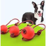 Оригинал Резина Собака Кот Chew Training Ball Toys Очистка зубов Chew Ball P Petpy Pet Play Обучение Игрушки для домашних животных