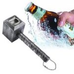 Оригинал Hammer Of Thor Beer Bottle Openers Hammer Shaped Bottle Opener Corkscrew Beverage Wrench Jar Openers