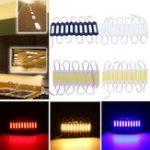 Оригинал 10PCS DC12V COB Теплый белый / чистый белый / красный / зеленый / синий LED Свет полосы модуля для рекламного знака
