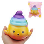 Оригинал Poo Кукла Squishy 11.5 * 11 * 8CM Медленное восхождение с подарком коллекции упаковки Soft Toy