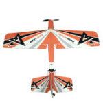 Оригинал KEYI-UAV Hero 2.4G 4CH 1000mm PP Trainer RC Самолет RTF с функцией самодиагностики полета