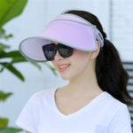 Оригинал Женское Летняя прогулка UV-Protection Visor Шапка