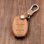 Оригинал Кожа Авто Ключ Чехол/Сумка Чехол для Mercedes Дистанционный Smart Key 3 4 Button