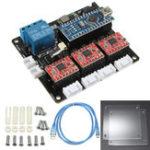 Оригинал USB 3 Axis Stepper Мотор Водяная плата для DIY Лазер Гравировальная машина 3-х осевая панель управления