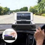 Оригинал Universal Qi Wireless Charge HD Навигация Head Up Дисплей Авто Держатель панели приборов для сотового телефона