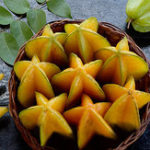 Оригинал Egrow 50Pcs / Pack Carambola Семена Сад Семена Averrhoa Star Fruit Tree Семена Woody Plants