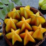 Оригинал Egrow 50Pcs / Pack Carambola Семена Сад Семена Averrhoa Star Fruit Tree Семена Woody Plants