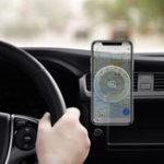 Оригинал USAMS US-CD44 QI Беспроводное зарядное устройство Магнитный держатель Вентиляционное крепление Авто держатель для Samsung S8 S9 Note 8