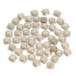 Оригинал 250Pcs DC12V 4 Pins Tact Tactile Push Button Switch Моментальный SMD-переключатель 5x5x1.5MM