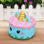 Оригинал Jumbo Squishy Squeeze Unicorn Mermaid Cake Slow Rising Cream Подарочные игрушки для детей