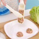 Оригинал ФрикаделькиMakerHotPotBallsSpoon Meat Пищевая промышленность Машина Mold Кухонные гаджеты Burger Press Гамбургер Кулинария Инструмент