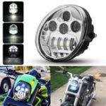 Оригинал DOT 60W мотоцикл LED Фары Hi / Lo Beam DRL Для Harley Davidson VROD VRSC