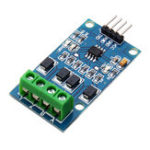 Оригинал RS422 Mutual Transfer TTL Двухсторонний сигнальный модуль Full Duplex 422 Включите микроконтроллер MAX490 в TTL