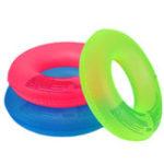 Оригинал ПВХнадувныефлуоресценцииплаватькольцоплавание Бассейн воды Float Party Пляжный Raft Toy