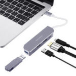 Оригинал Type-C USB-C 3.1 до 2-портовый USB 3.0 HDMI 4K Дисплей 100W PD Зарядный концентратор