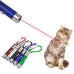 Оригинал 3 В 1 Лазер Уровень измерения Правитель указатель Ручка Светодиодный Забавный Pet Палка Детский Кот Игрушка Key Chain Детектор денег Ручка