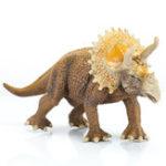 Оригинал SNAEN 20CM Игрушка для динозавров ПВХ Triceratops Figure Animal Jurassic World Цифры Diecast Model