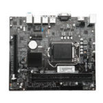 Оригинал H110 Материнская плата 2 DIMM-канал 2 DDR4 2133MHz Поддержка LGA1151 Intel i3 / i5 / i7 Series CPU