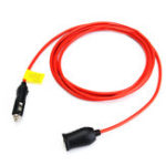 Оригинал 12V Car Cigarette Lighter Extension Cable Adapter Socket Charger Plug Lead