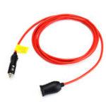 Оригинал 12V Car Cigarette Lighter Extension Cable Adapter Socket Charger Plug Lead
