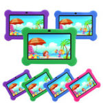 Оригинал 512 МБ + 8 ГБ Allwinner A33 Quad Core 7 дюймов Android 4.4 Kids Tablet