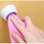 Оригинал ТворческийRagМаленькаяклипскаятарелкадля стирки Ткань для смыва Полотенце Крючки Super Paste Полотенце Стойка для хранения