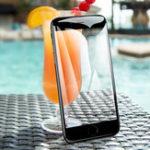 Оригинал Рок-закаленноестеклодлязащитыэкранадля iPhone 8 Plus/7 Plus / 6s Plus/6 Plus Обложка с полным экраном 0,23 мм