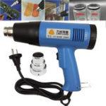 Оригинал 220V EU Plug 1500W Регулируемый объем горячего воздуха Gun Electric Electric Gun