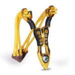 Оригинал IPRee®НаоткрытомвоздухеТактическийметаллический сплав Slingshot Rubber Стандарты Catapult Кемпинг Стреляющий лук