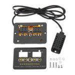 Оригинал W1013 2 in 1 12V 24V 220V Digital Термометр Контроллер температуры влажности