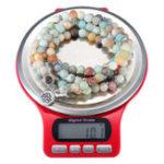 Оригинал 3 кг / 0,1 г Мини-цифровые ювелирные изделия Шкала Круглая форма