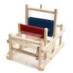 Оригинал Ремесло деревянное традиционное столовое вязальное ткацкое изделие детские игрушки воспитательное DIY модель парчи