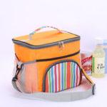 Оригинал ПортативныйобедСумкаТермоизолированныйзаедкКоробка Carry Tote Storage Сумка Продовольственная упаковка для пикника для путешествий