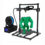 Оригинал ADIMLab I3 Plus 3D-принтер частично разобран DIY Набор Двухсторонняя печать 310 * 310 * 410 Большой размер печати с 10 м PLA 1,75 мм 0,4 мм сопло