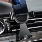 Оригинал Cafele Авто Замок Вращение на 360 градусов Авто Mout Air Vent Держатель для iPhone Xiaomi Mobile Phone