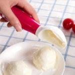 Оригинал IceCreamSpoopSpoonDigSpherical Ball Инструмент Для фруктов с мороженым Замороженные Йогуртская кулинарная ложка