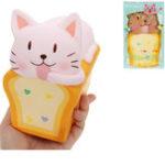 Оригинал Toast Кот Squishy 14cm Медленный рост с подарком коллекции упаковки Soft Toy