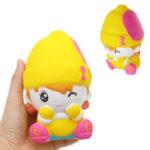 Оригинал Девушка снеговика Squishy Scented Squeeze Slow Rising Toy Soft Подарочная коллекция подарков