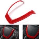Оригинал КрасныйАвтоНаклейканапанельуправления на рулевом колесе Гарнир Обложка для Ford F150 2015-2017