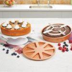 Оригинал CakePan3psSetАнтипригарныйторт с 2 Волшебный Средние карманы и 2 Волшебный Средние торты
