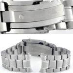 Оригинал Замена OMEGA S / Steel 20mm Watch Стандарты Браслет для ремня для OMEGA Speedmaster Seamaster