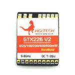 Оригинал HGLRC GTX226 V2 5.8G 48CH PIT / 25mW / 100mW / 200mW / 400mW Переключаемый FPV Передатчик VTX RP-SMA Женский