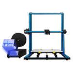 Оригинал TRONXY® X3SA-400 Алюминиевый 3D-принтер 400 * 400 * 420 мм Размер печати с сенсорным экраном 3,5 дюйма / Автоматическое выравнивание / Ручная печать / Обнар